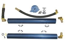 Mustang BBK 5.0L High Flow Aluminum Fuel Rails (86-93)