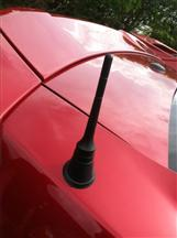 Mustang Blow-By Racing Black Billet Shorty Antenna (10-14)