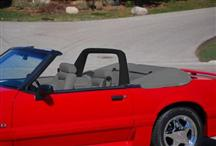 1990-93 Mustang Black Vinyl Light Bar