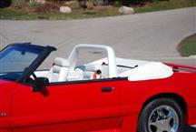 1990-93 Mustang White Vinyl Light Bar
