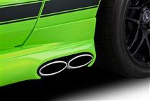 Mustang Cervini's 3'' Side Exhaust Kit W Skirts And Rear Valance (13-14)