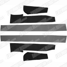 1983-90 Mustang Convertible Top Pad Set