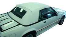 1983-90 Mustang White Convertible Top