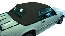 1991-93 Mustang Black Convertible Top
