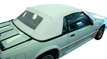 1993 Mustang Bright White Convertible Top