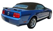 Mustang Sailcloth Convertible Top And Window with Defrost Black (05-09)