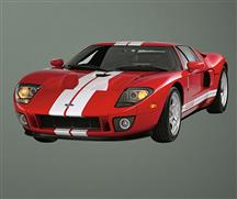 Ford GT Wall Graphic