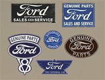 Ford Garage Sign Wall Graphic
