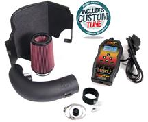 Mustang JLT Black Textured Cold Air Intake Tuner Kit  (11-14) 5.0L