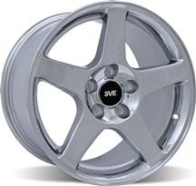 1994-04 Mustang Chrome 03 Cobra Wheel - 17X9