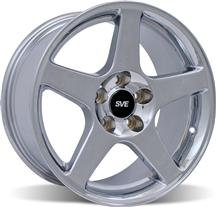 1994-04 Mustang Chrome 03 Cobra Wheel - 17X10.5