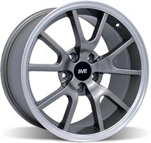 1994-04 Mustang Anthracite Fr500 Wheel - 17X9
