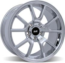 1994-04 Mustang Chrome Fr500 Wheel - 17X9