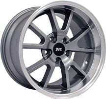 1994-04 Mustang Anthracite Fr500 Wheel - 17X10.5