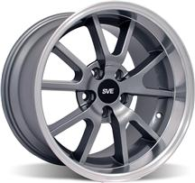 1994-04 Mustang Anthracite Deep Dish Fr500 Wheel - 18X10