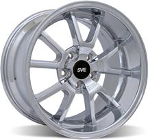 1994-04 Mustang Chrome Deep Dish Fr500 Wheel - 18X10