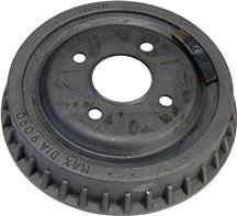 1979-93 Mustang Finned 4-Lug Rear Brake Drum