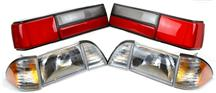 87-93 Mustang Headlight & LX Taillight Combo Kit