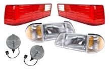 87-93 Mustang GT Complete Lighting Resto Kit.