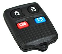 Mustang Four Button Keyless Entry Remote  (99-09)