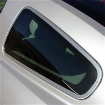 Mustang Billet Quarter Window Trim (05-09)