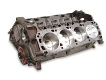 1979-95 Mustang 5.0L 302 Economy Short Block with Forged Pistons, Accepts Roller Cam