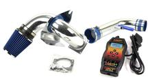 1996-04 Mustang GT SVE Polished Cold Air Kit with Sct Powerflash Sf3 Tuner Kit