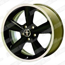 Mustang Ford Racing Black Bullitt Wheel 18X8.5  (05-14)