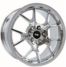 1994-04 Mustang Chrome Ford GT Style Wheel - 18X9