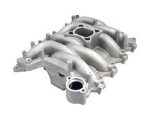 1999-04 Mustang GT Professional Products Satin Typhoon Intake Manifold, Will Also Fit 1996-98 Mustang GT with Pi Heads