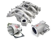 99-04 MUSTANG GT PROFESSIONAL PRODUCTS SATIN TYPHOON INTAKE MANIFOLD KIT INCLUDES PLENUM AND  75MM THROTTLE BODY