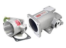 1996-04 Mustang GT 4.6L 2V Professional Products Satin Intake Plenum And Satin 70mm Throttle Body Kit