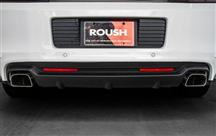 Mustang Roush Rear Valance Kit with Axleback, 3.7 V6 (13-14)