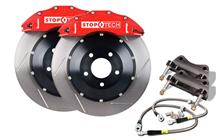 "Mustang Stop Tech 14"" Front Big Brake Kit Red (05-14)"