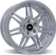 1994-04 Mustang Chrome SVE Anniversary Deep Dish Wheel - 17X10