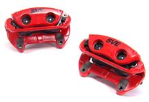 1994-04 Mustang Red SVE Cobra Style Front Brake Caliper Kit