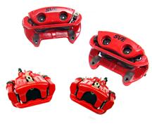 1994-04 Mustang Red SVE Cobra Style Front & Rear Brake Caliper Kit
