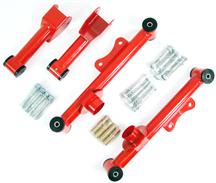 1979-04 Mustang SVE Tubular Rear Upper And Lower Control Arm Kit, Red