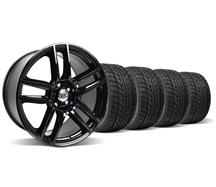 19X9 Gloss Black Boss 302 S Wheel & Tire Kit (05-14)