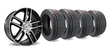 "Mustang Ford Racing 2012 Boss 302 Laguna Seca Wheel And Nitto Tire Kit 19x9"" (05-14)"