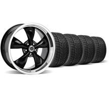 Mustang American Racing Torq Thrust M Wheel And Nitto Tire Kit 20X8.5/10 Black (05-14)