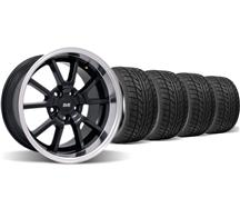 F-150-Lightning Deep Dish Fr500 Wheel & Nitto Tire Kit - 18X9/10 Black (05-14)